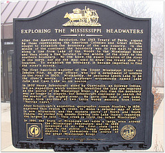 Exploring the Mississippi Headwaters Sign